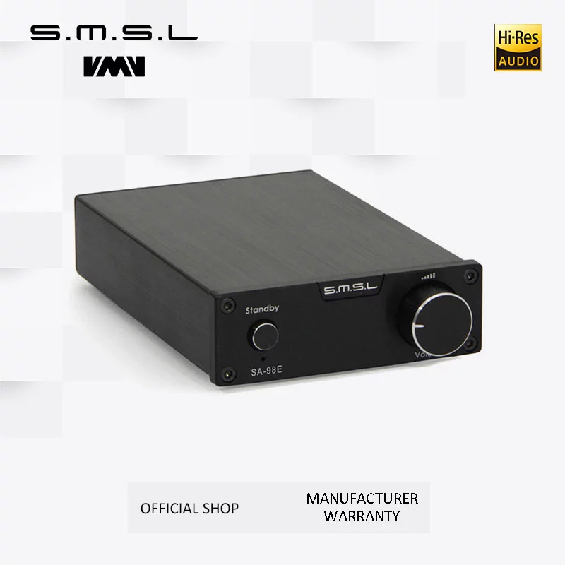 Bộ Khuếch Đại Âm Thanh Ampli Mini Công Suất Lớn S.M.S.L SA-98E 2x160W - Hàng Chính Hãng