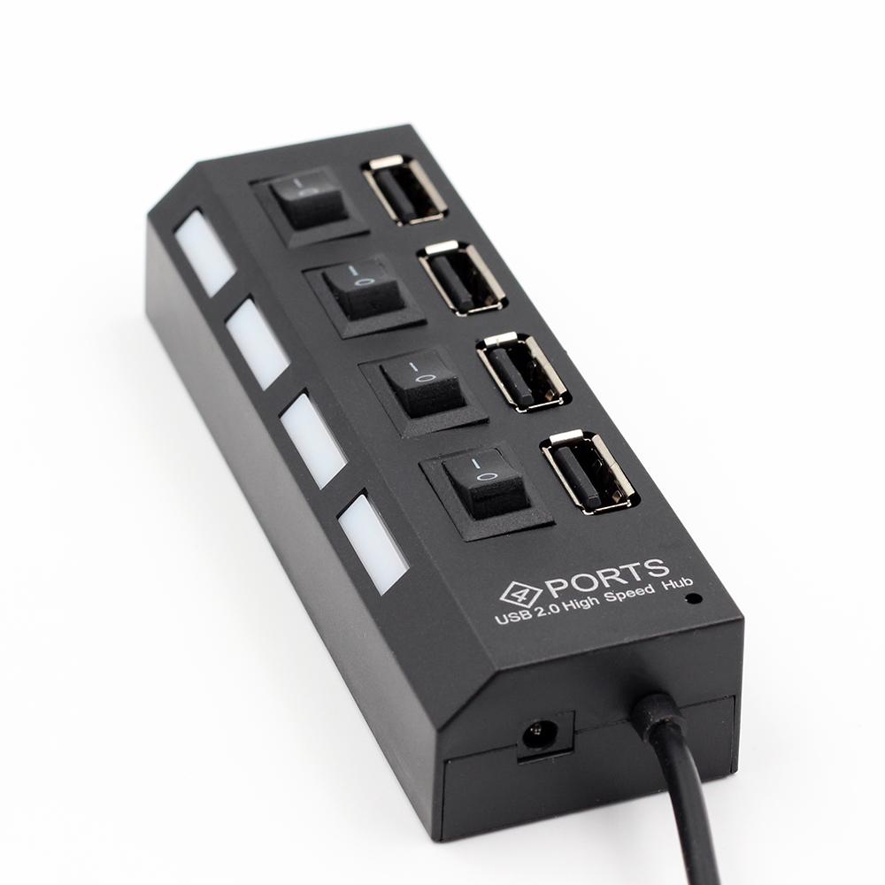 Hub Chia Cổng USB Thành 4 Cổng Cao Cấp AZONE