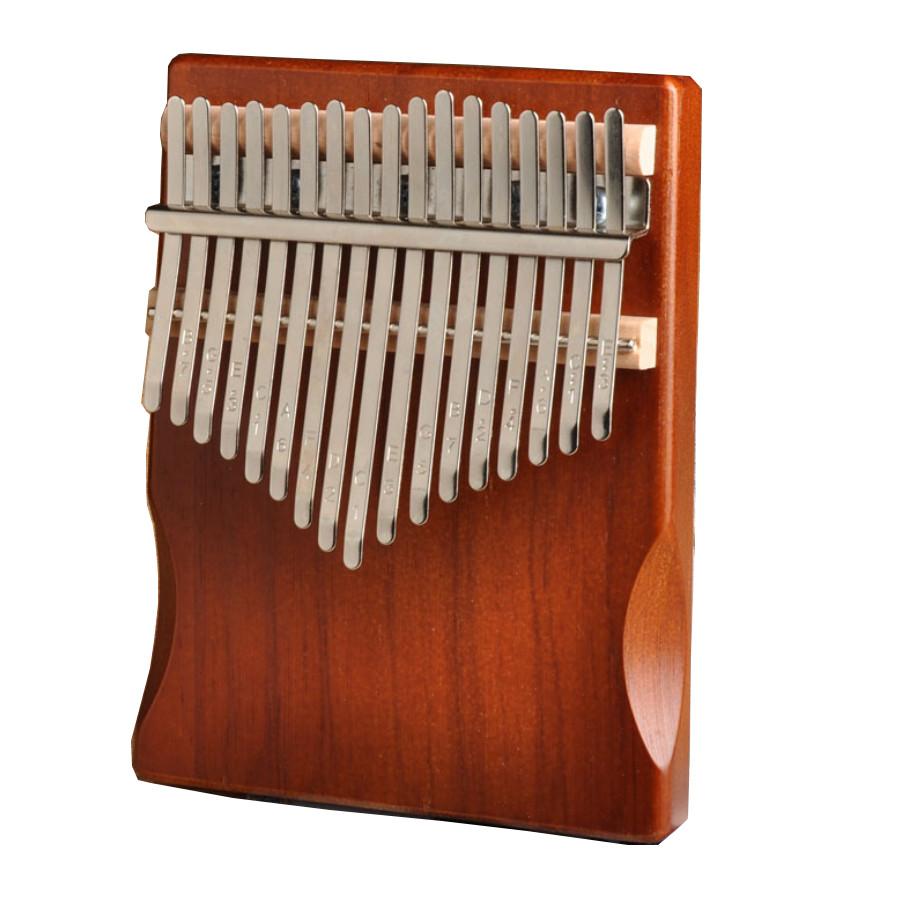Đàn Lyre 16 dây đàn hạc Lyre Harp tặng đàn kalimba 17 phím gỗ nguyên khối Mahagony PJLIM72
