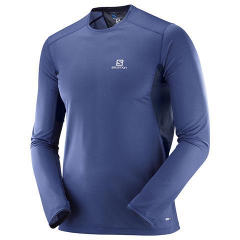 Áo thể thao Salomon Nam tay dài Trail runner LS tee M - L40399600 - XS