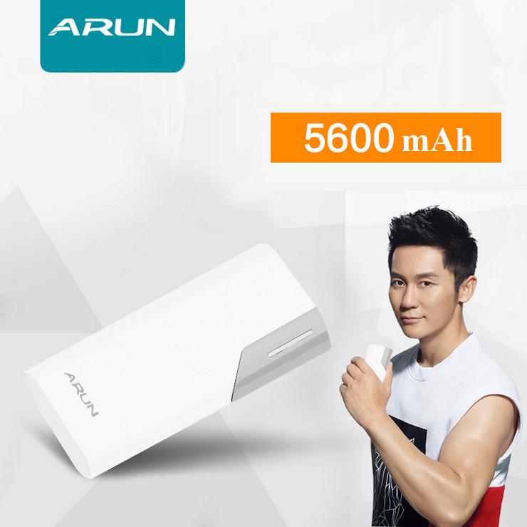 Pin sạc dự phòng ARUN Y38 5600mAh - Hàng chính hãng - Giao màu ngẫu nhiên