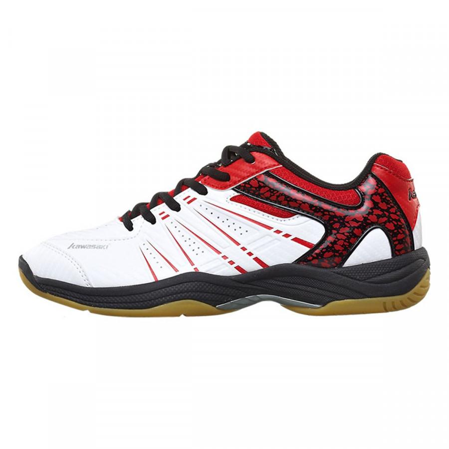 Giày Cầu Lông Kawasaki K 063 trắng đỏ - size 43