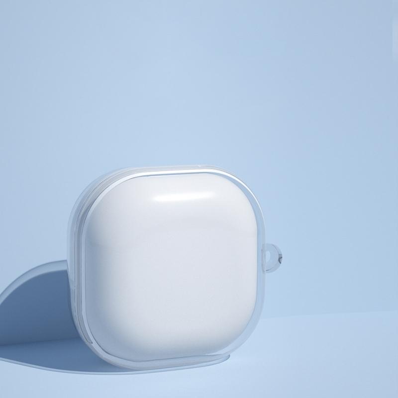Case ốp cho Samsung Buds Live / Buds Pro TPU Trong Suốt Kèm Móc Treo
