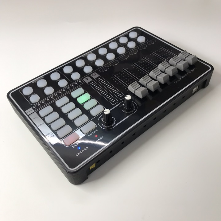 Soundcard H9 Bluetooth - Hát karaoke, thu âm, livetream chuyên nghiệp