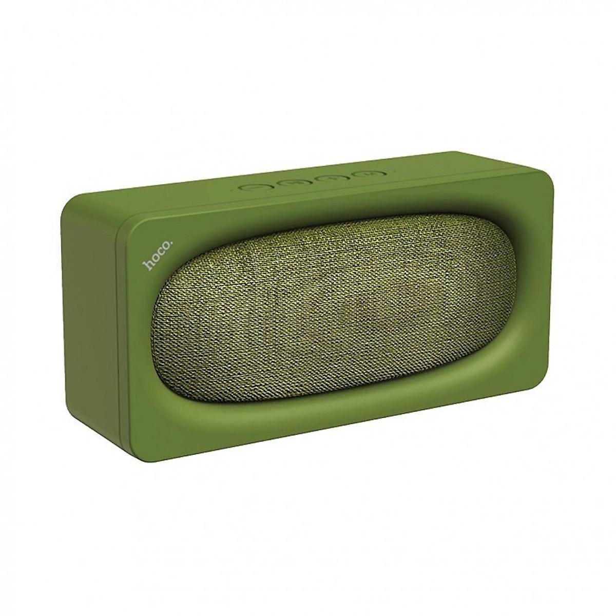 Loa Bluetooth HOCO BS27  âm thanh chân thực sử dụng liên tục 6 giờ màu xanh quân đội - Hàng chính hãng
