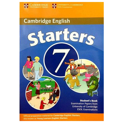Cambridge Young Learner English Test Starters 7: Student Book