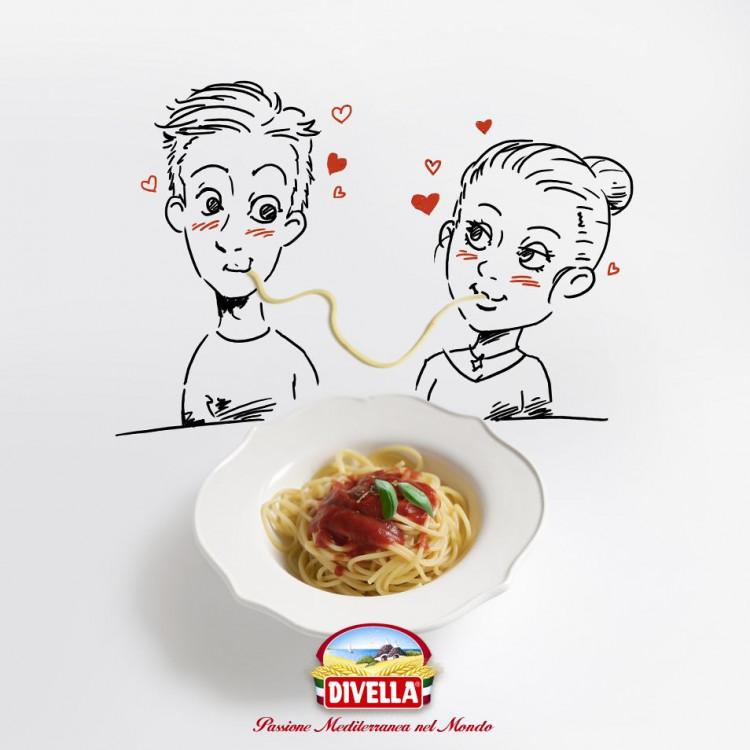 Kết quả hình ảnh cho spaghetti divella 8