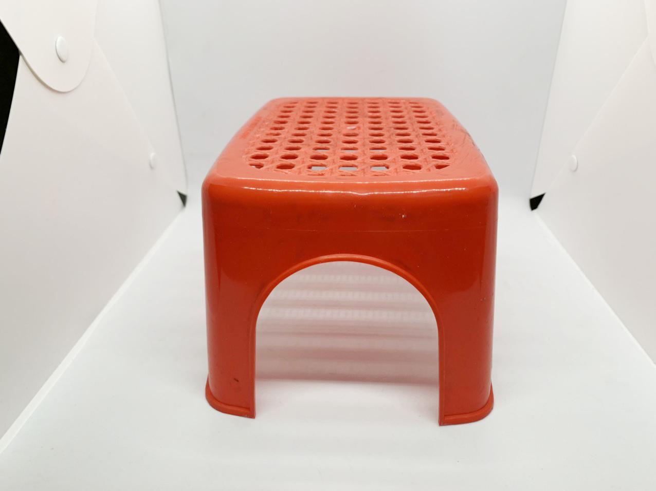 Ghế nhựa thấp chữ nhật cho bé tiện dụng