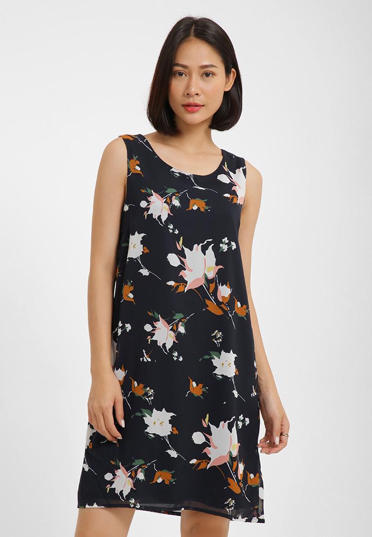 Đầm Suông Họa Tiết Hoa MDM MD67550815-NV-S