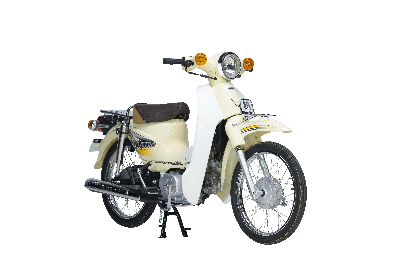 Xe Máy 50cc DK Retro - Màu Be