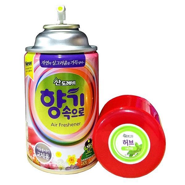 Bình Xịt Thơm Phòng Khử Mùi Hàn Quốc cao cấp Hương Thiên Nhiên 300ml cho ô tô
