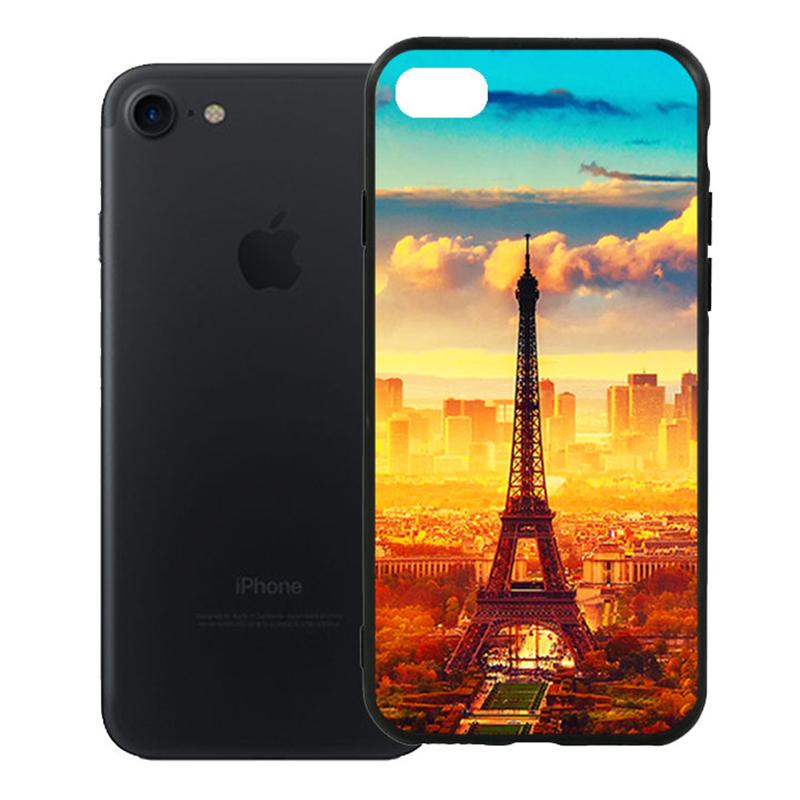 Ốp Lưng Viền TPU Cao Cấp Cho iPhone 7 - Paris 01