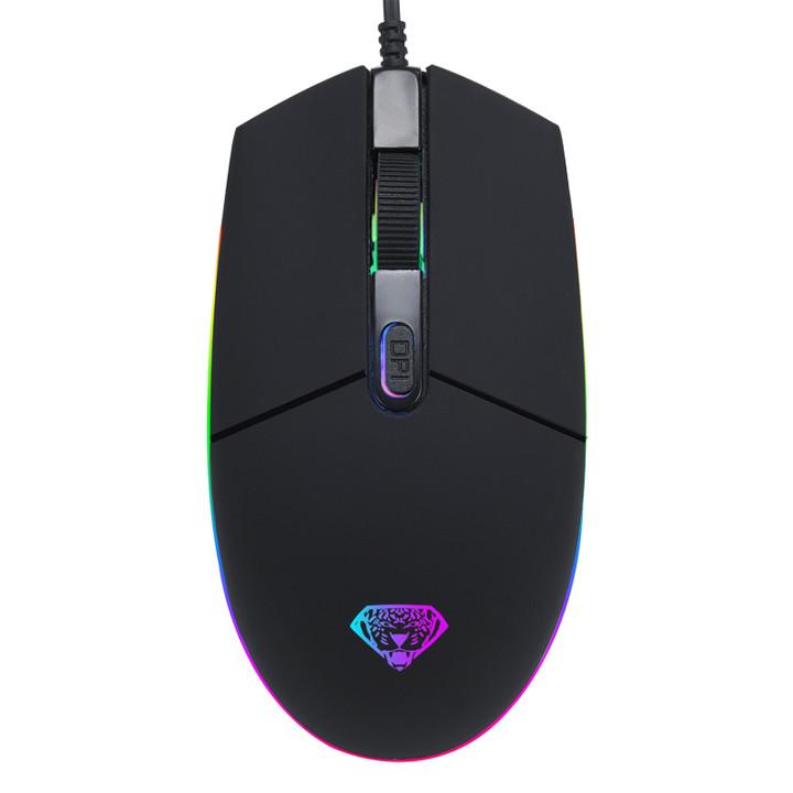 Chuột game thủ Divipad G102 Led RGB DPI 2400 - Hàng nhập khẩu