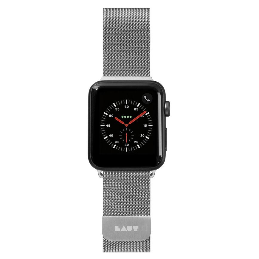 Dây Đeo Đồng Hồ LAUT Steel Loop Watch Strap For Dành cho Apple Watch Series 1/2/3/4/5/6/SE (42/44mm) - Hàng chính hãng