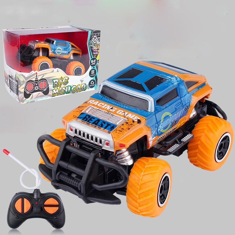 Đồ chơi xe ô tô điều khiển từ xa KAVY  tốc độ cao, dẫn động 2 bánh nhựa ABS an toàn