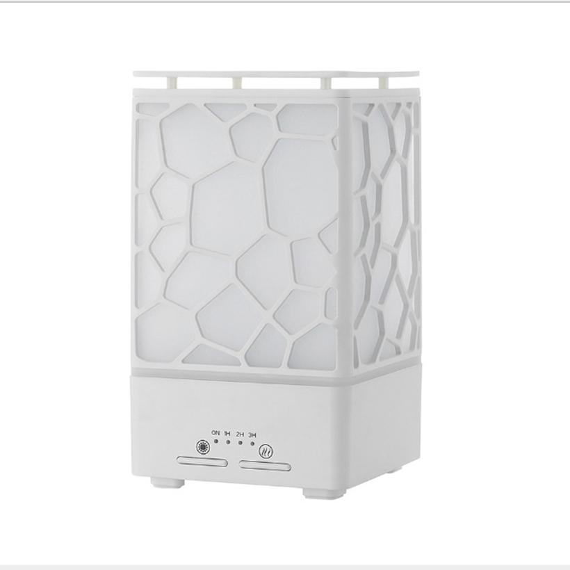 Máy khuếch tán tinh dầu siêu âm tạo ẩm lập phương - máy xông tinh dầu phun sương Aramacs