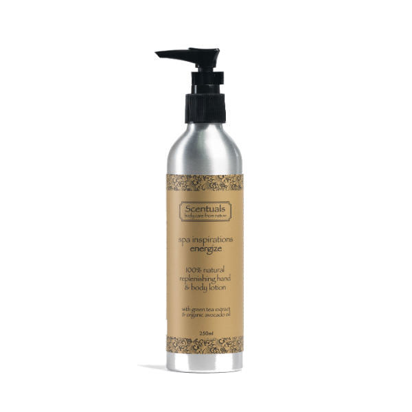 Sữa Dưỡng Thể Spa Energize Spa Inspirations Energize Replenishing Hand & Body Lotion Scentuals (250ml)