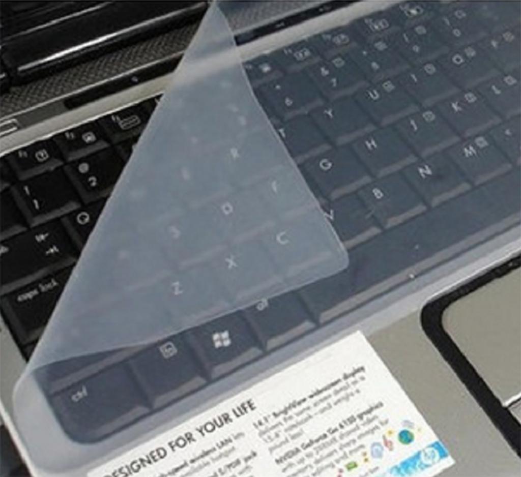 Miếng Phủ Bàn Phím Laptop 13 - 14 inch Silicon Chống Nước, Chống Bụi Bẩn