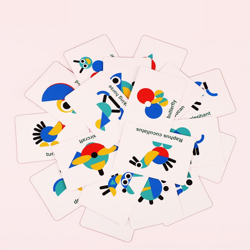 Đồ chơi gỗ - Xếp hình tangram động vật, đồ chơi trí tuệ cho bé rèn luyện trí thông minh và tăng cường sáng tạo