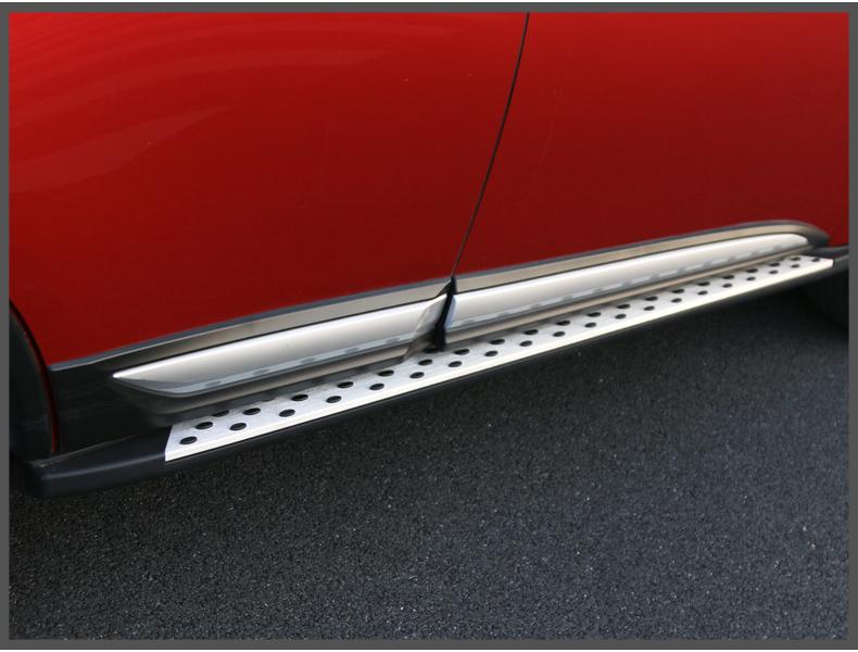 Bộ ốp sườn, nẹp sườn dành cho xe Mitsubishi Outlander