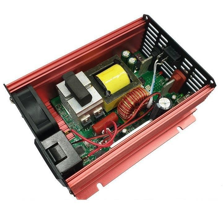 Kích điện Suoer sin chuẩn 12v lên 220v công suất 500w - Chính hãng