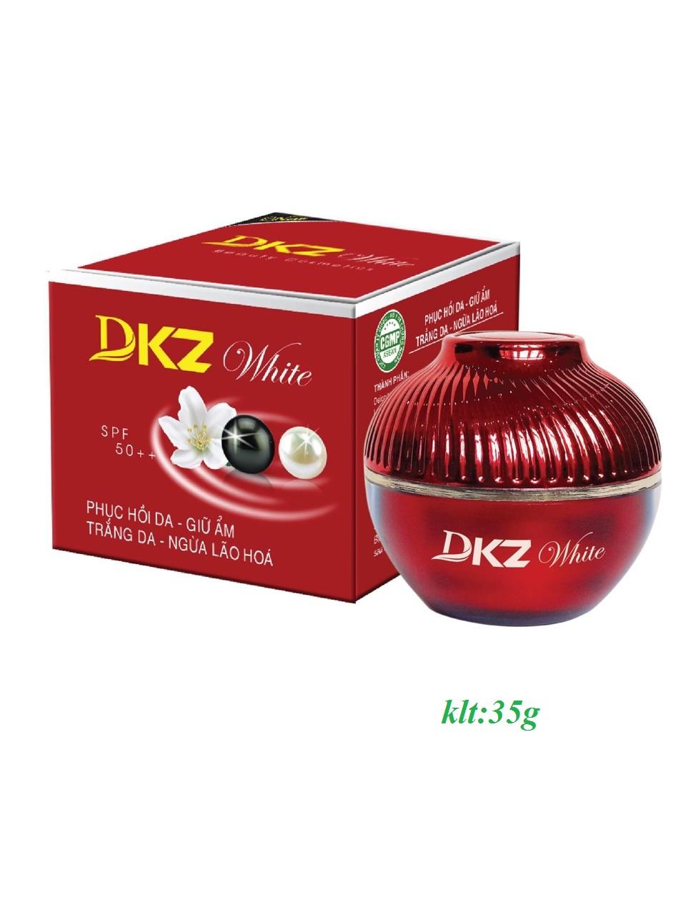 KEM Phục hồi da - Giữ ẩm - Trắng da - Ngừa lão hóa ( DKZ-WHITE ) 35G Hàng Chính Hãng