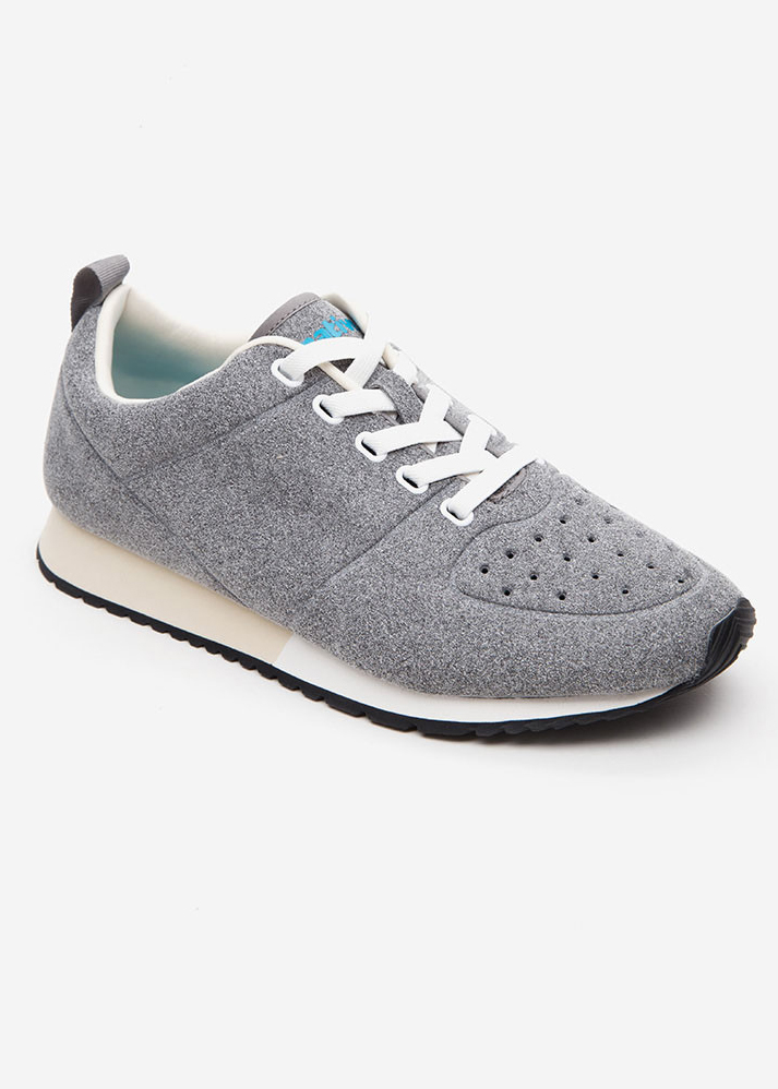 Giày Sneakers Unisex Native AD CORNELL (211052001523) PIGEON GREY/ SHELL WHITE/ BONE WHITE/ JIFFY RUBBER