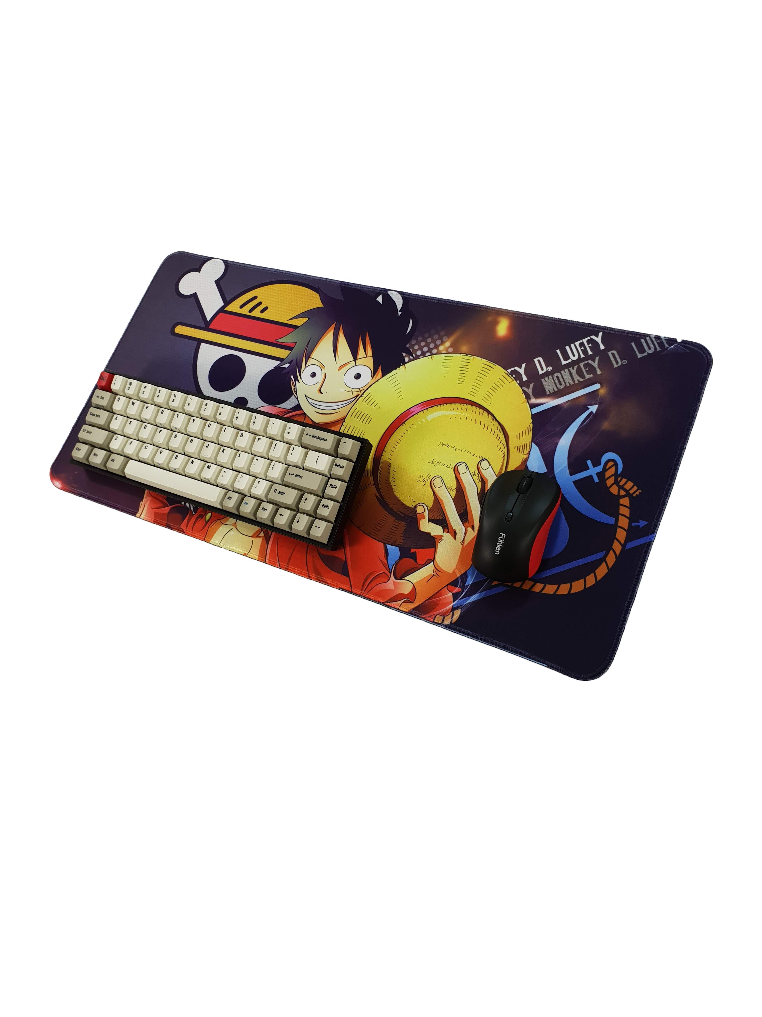 Lót chuột One Piece Luffy 60x30