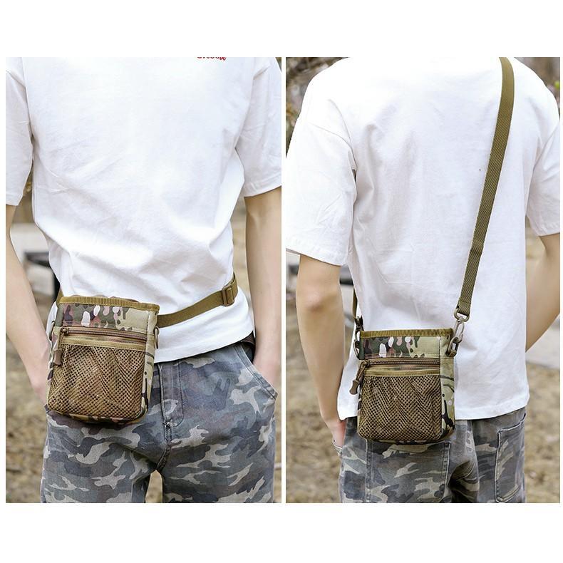 Túi đeo chéo thời trang lính mini