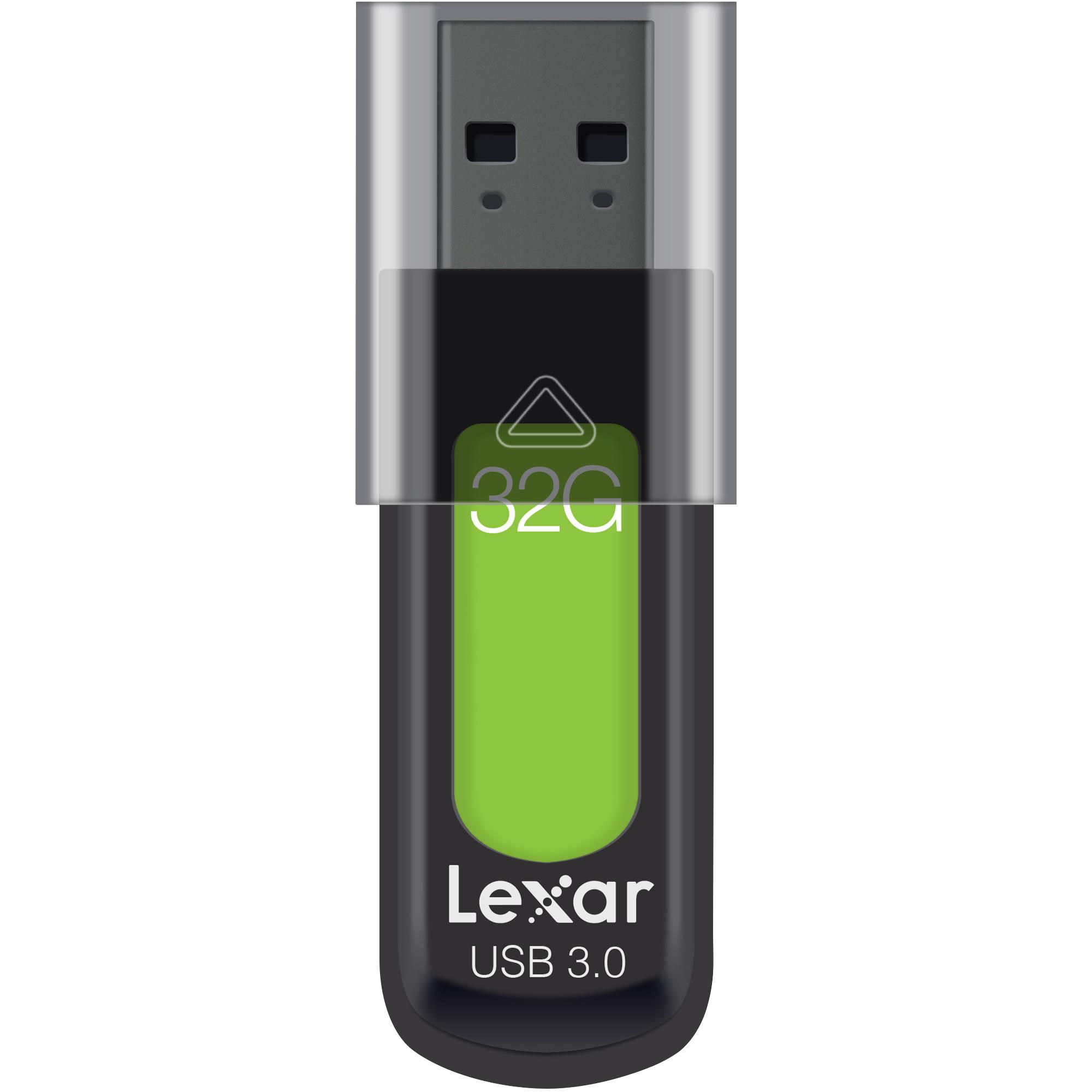USB Lexar S57 JumpDrive 32GB - USB 3.0 - Hàng Chính Hãng