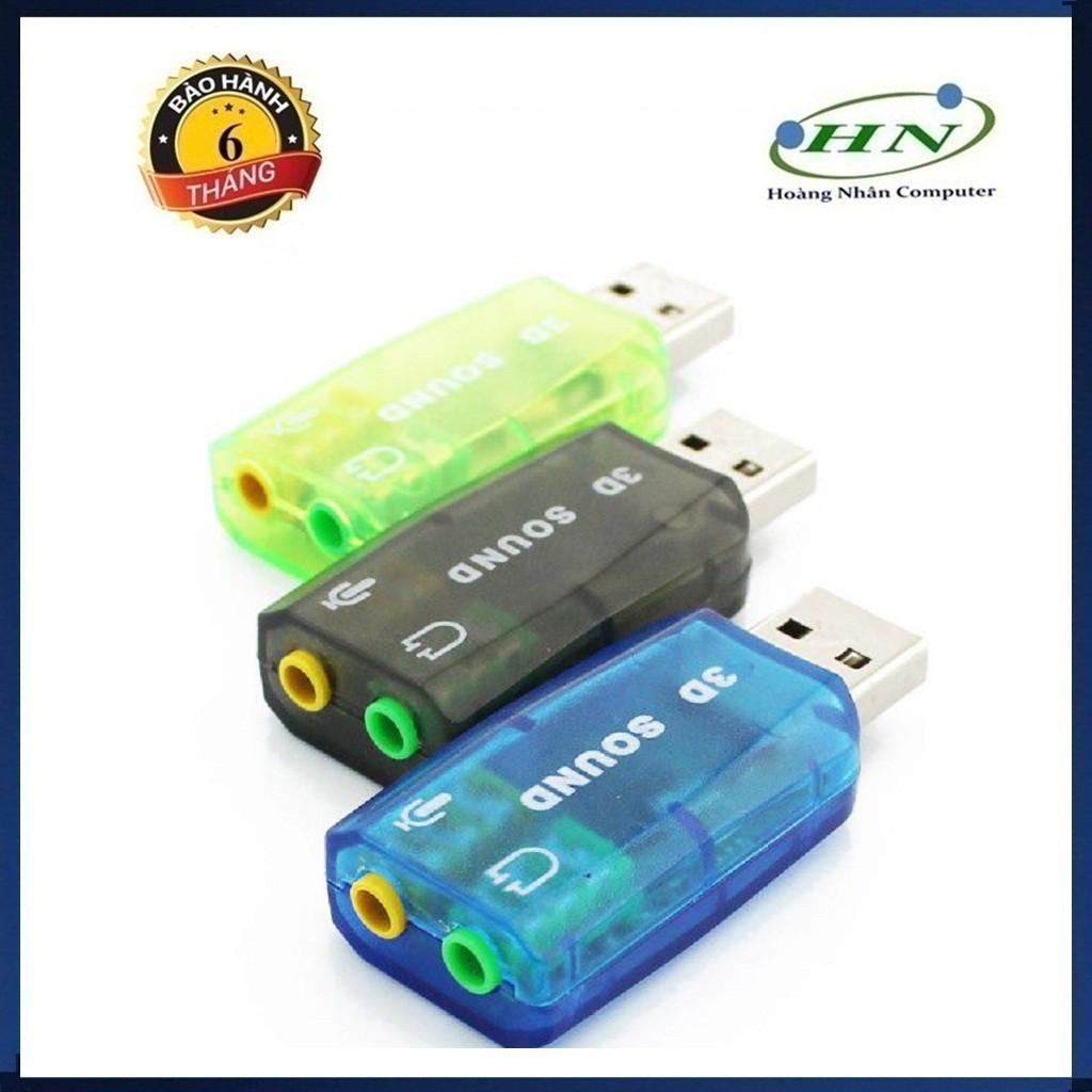 USB RA SOUND 5.1 CHUYỂN ĐỔI TỪ CỔNG USB RA LOA