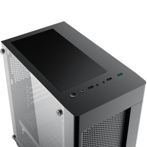 Vỏ case Xigmatek AERO 2F (EN46591) 2 Fan RGB - Hàng Chính Hãng