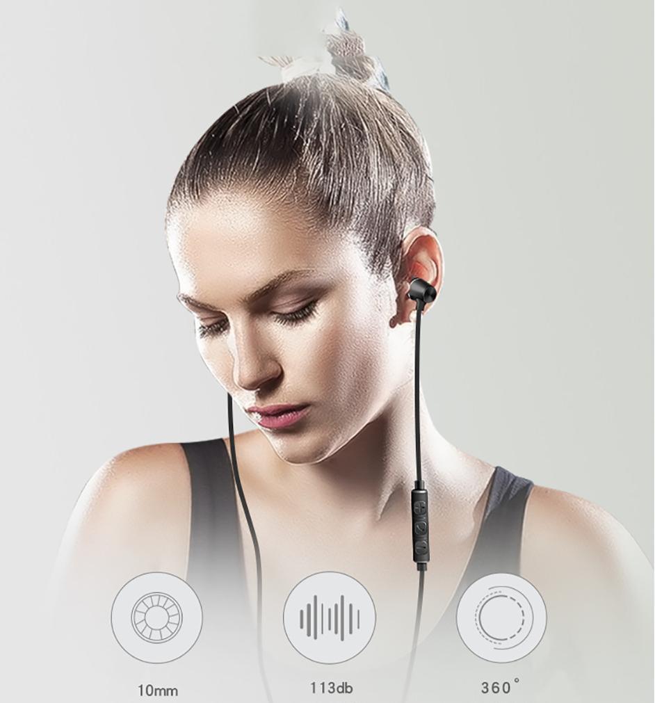 Tai nghe nhét tai eData KDK 307 Stereo Siêu Bass Jack 3.5mm dây chống rối dài 1.2m - Hàng Chính Hãng