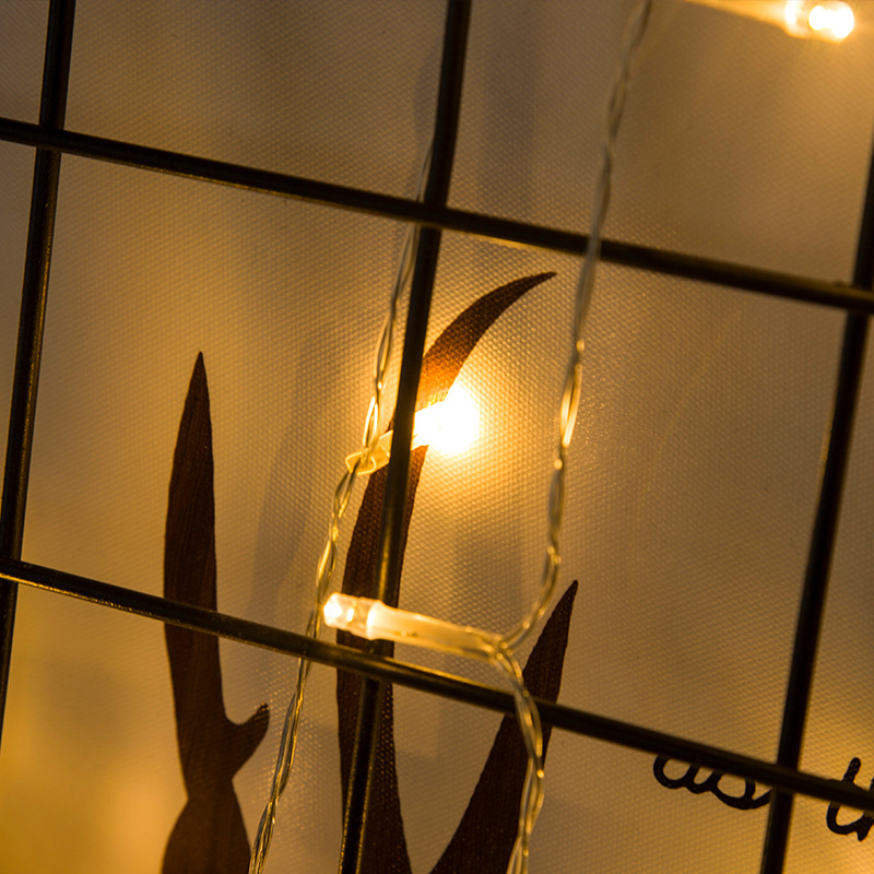 Dây Đèn LED Fairy Light Dùng Pin Trang Trí Nhà Cửa