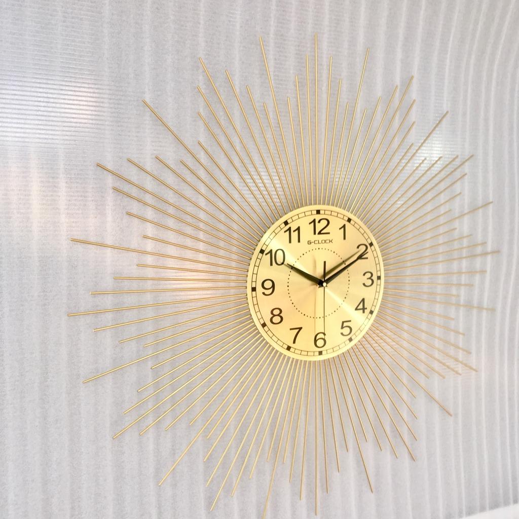 Đồng hồ treo tường nghệ thuật - Đồng hồ treo tường Decor trang trí nhà cửa 1916