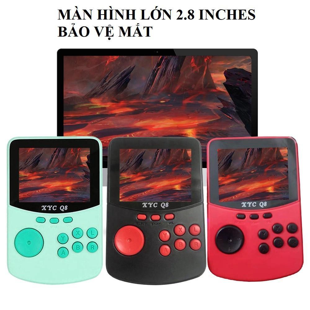 Máy chơi game 4 nút mini cầm tay với hơn 506 game cổ điển XYC Q8 - Máy chơi  Game khác Nhãn hàng OEM