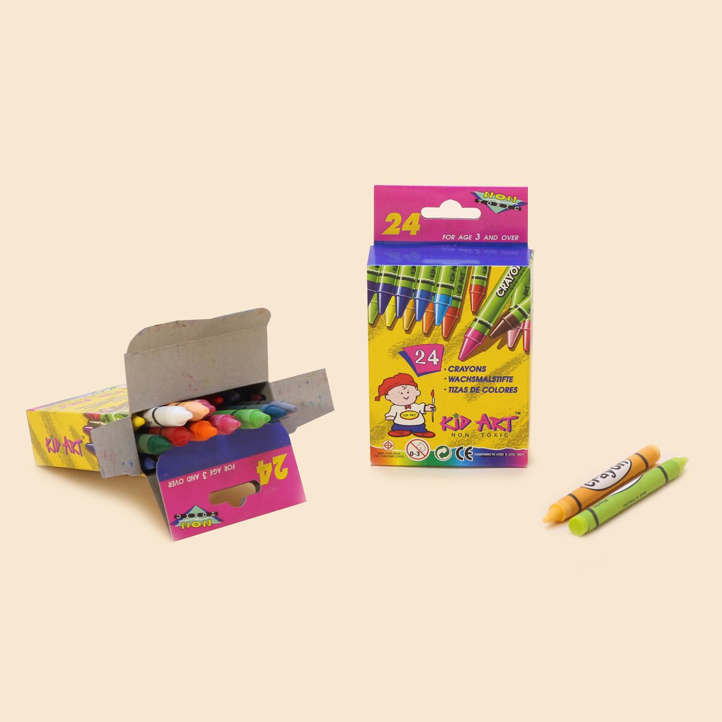 Bút sáp màu 24 cây - Crayons