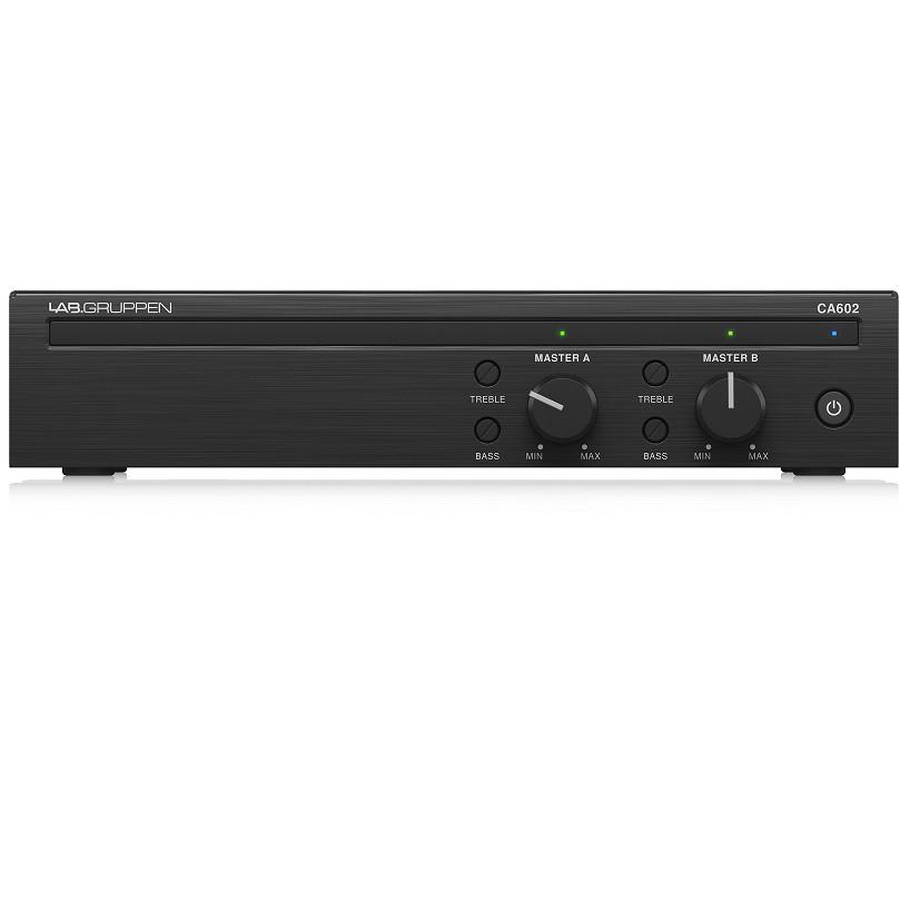 Lab Gruppen CA602 Amplifier 2 x 60 Watt Commercial Amplifier -Hàng Chính Hãng