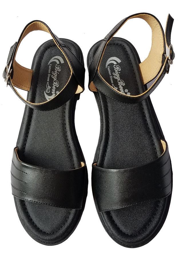 Giày Sandal Nữ BIGGBEN Da Bò Thật SDN54
