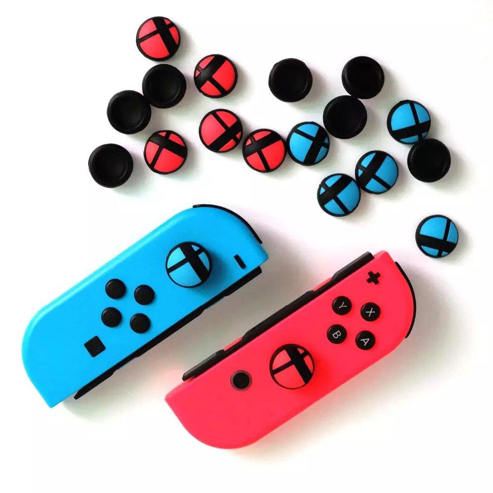 Núm bọc cần Joycon Nintendo Switch mẫu Smash
