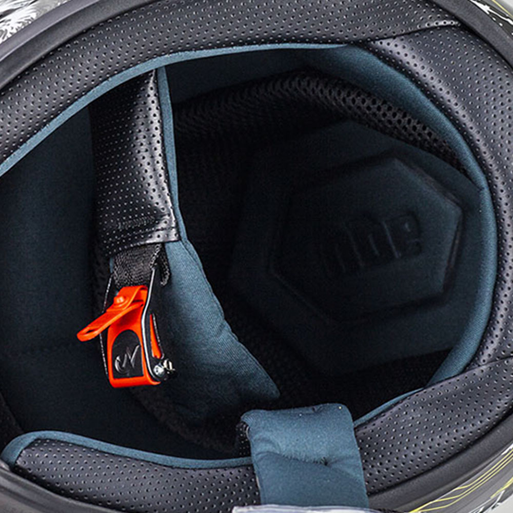Nón Fullface AGU Tem14 Cam bóng  Siêu chất Kèm Sừng Batman + Đuôi Gió Sẵn Keo _ Mũ Bảo Hiểm có kính đi phượt