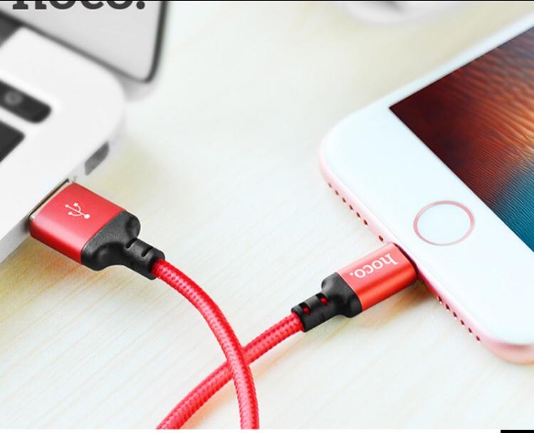 Cáp sạc HOCO X14 Sạc Iphone,Ipad chất lượng cao - Màu ngẫu nhiên