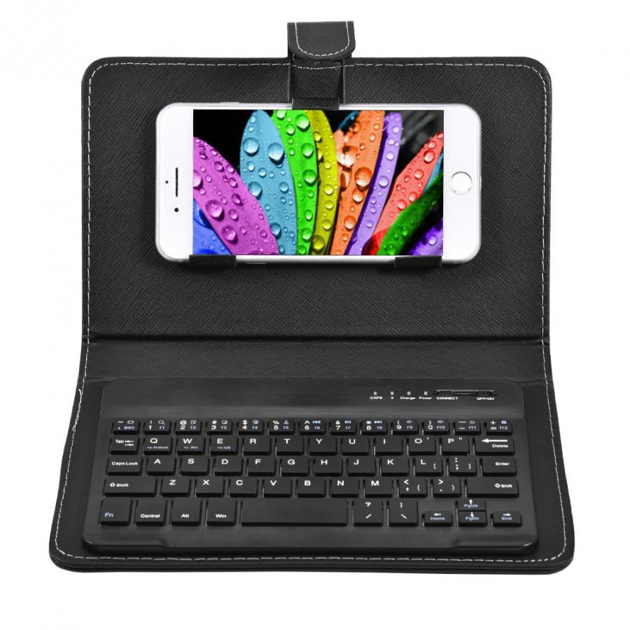 Vỏ bảo vệ tích hợp bàn phím Bluetooth cho mọi loại điện thoại IOS/Android