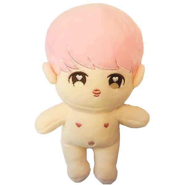 Doll bts búp bê jimin tóc hồng only doll