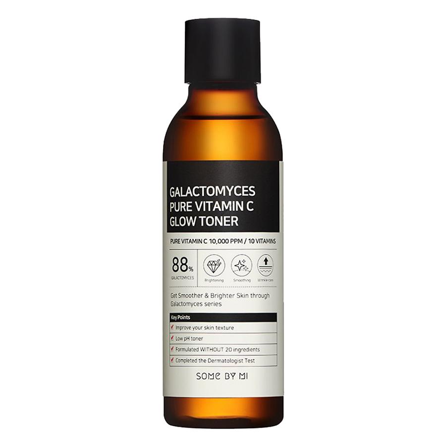 Bộ Sản Phẩm Vitamin C Dưỡng Trắng Da Some By Mi Galactomyces Pure Vitamin C Toner 200ml Và Serum 30ml
