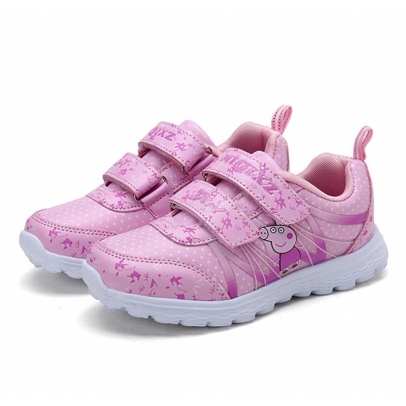 Giày thể thao cho bé gái in hình Heo Peppa HQ36