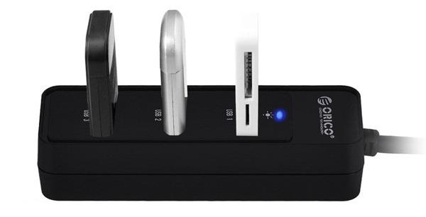 BỘ CHIA 4 PORT USB ORICO W5PH4-U3- Hàng Chính Hãng