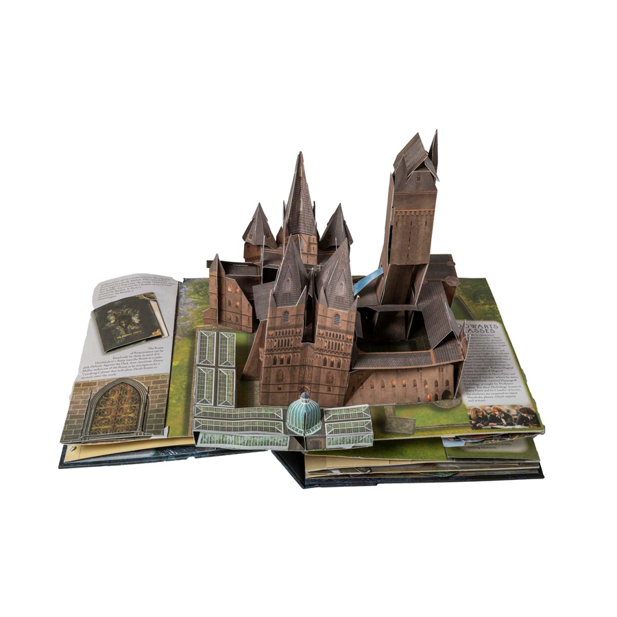 Harry Potter: A Pop Up Guide to Hogwarts (English Book)