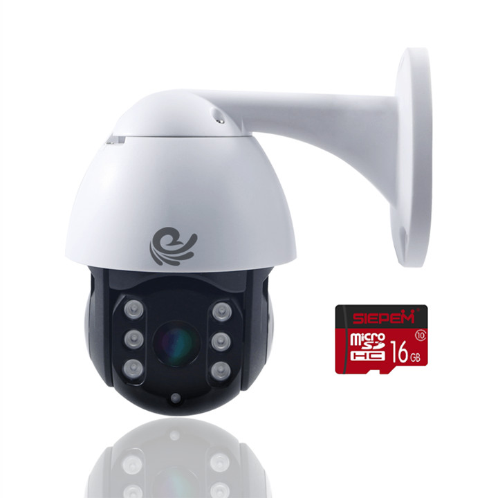 [ TẶNG THẺ NHỚ 16GB ] Camera Ip Ngoài Trời Chống Nước CARE 19HS200 HD / Full HD 1080P - Xoay Ngang 360 Độ, Dọc 90 Độ - Di Chuyển Theo Chuyển Động - Chính Hãng