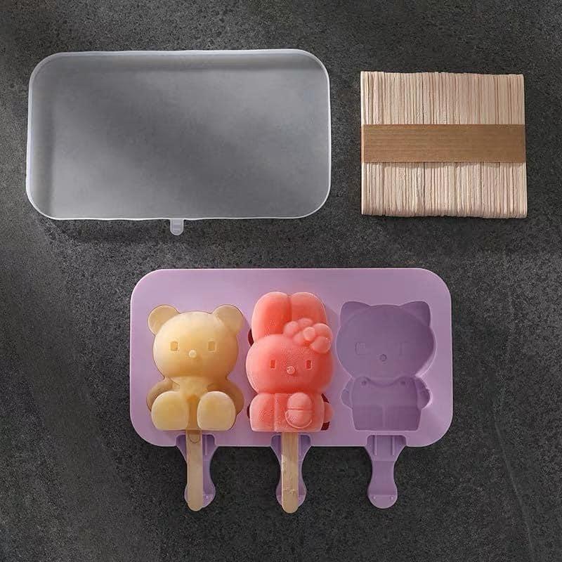 Khuôn làm kem làm bánh silicon mẫu mới 2020
